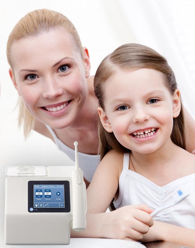 Aquolab - Idropulsore professionale con azoto - cura parodontite